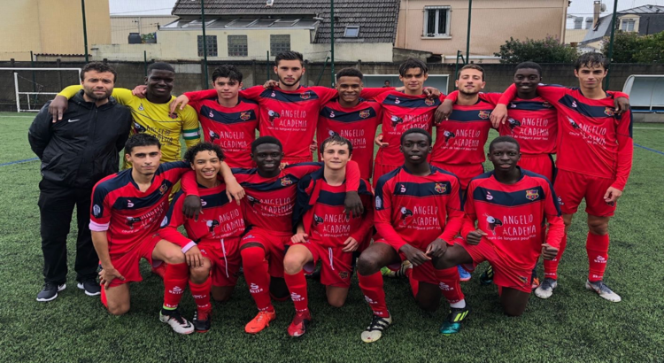 Les U18 du CO Vincennes de retour en Ligue